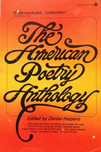 9780380003990: American Poetry Anthology