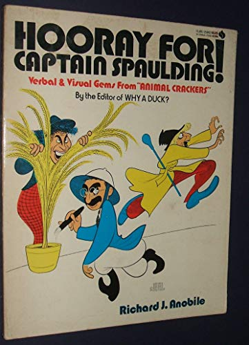 Hooray for Captain Spaulding (9780380004584) by Anobile, Richard J.
