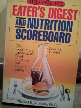 Nutrition Scoreboard: Jacobson, Michael F.