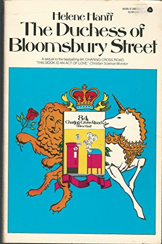 9780380006342: Title: The Duchess of Bloomsbury Street