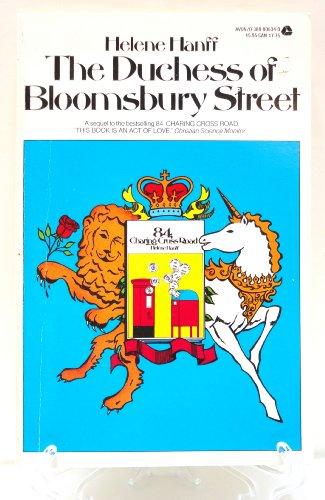 9780380006342: The Duchess of Bloomsbury Street