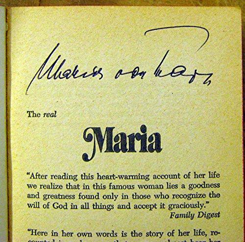 Maria:The True Story of the Beloved Heroine: Maria Von Trapp