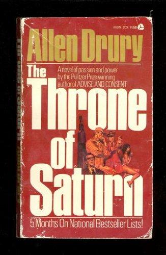 9780380007929: Throne of Saturn