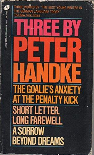 Three by Peter Handke: Handke, Peter