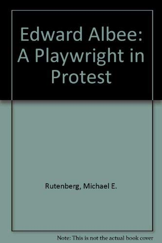 9780380011551: Edward Albee: A Playwright in Protest