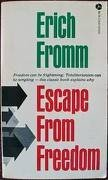 9780380011674: Escape from Freedom
