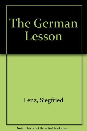 9780380012091: The German Lesson