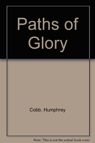 9780380015054: Paths of Glory