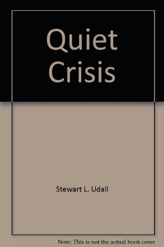 9780380015153: Quiet Crisis