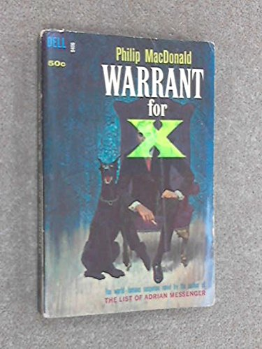 9780380016105: Warrant for X
