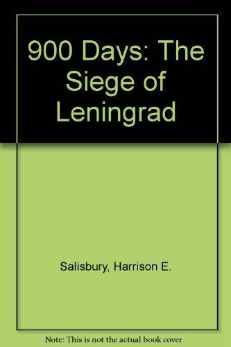 9780380016341: 900 Days: The Siege of Leningrad