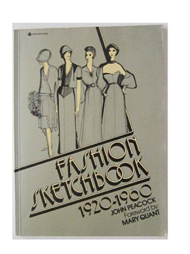 Fashion Sketchbook 1920-1960: John Peacock