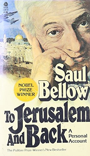 9780380016761: To Jerusalem and Back: A Personal Account