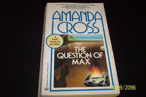 The Question of Max: Cross, Amanda