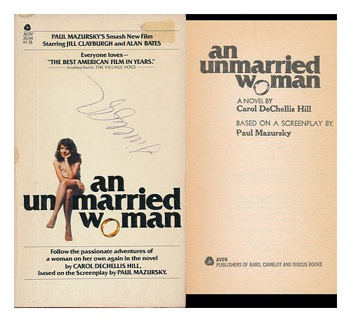 9780380018345: An Unmarried Woman - [A Novel Based on a Screenplay by Paul Mazursky]
