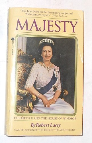 9780380018420: Majesty: Elizabeth II and the House of Windsor