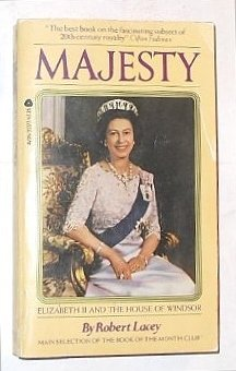 9780380018420: Majesty: Elizabeth II and the House of Windsor