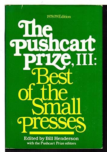 The Pushcart Prize II: Best of the Small Presses