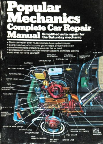 9780380019021: Popular Mechanics Complete Car Repair Manual