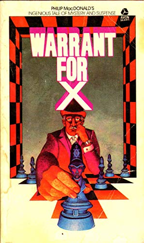 9780380159826: Warrant for X