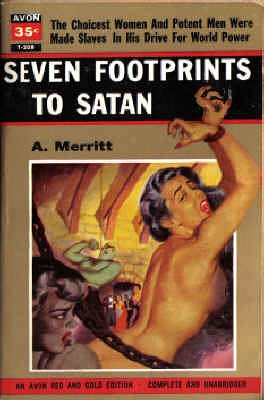 9780380202089: Seven Footprints to Satan (Avon Red & Gold Edition, T-208)