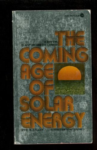 9780380214280: The Coming Age of Solar Energy