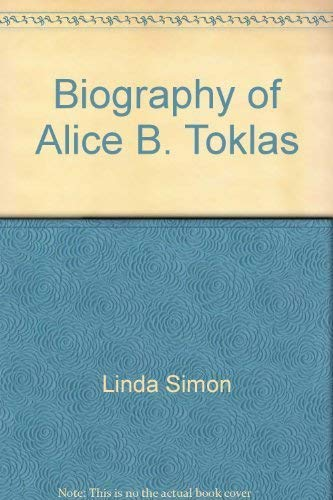 9780380390731: The Biography of Alice B. Toklas