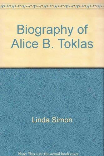 9780380390731: The Biography of Alice B. Toklas