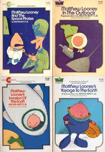 9780380396931: Matthew Looney: Four Space Adventures Stories