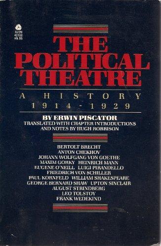 9780380401888: Political Theatre: A History 1914-1929