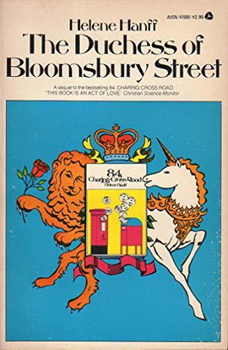 9780380419883: The Duchess of Bloomsbury Street