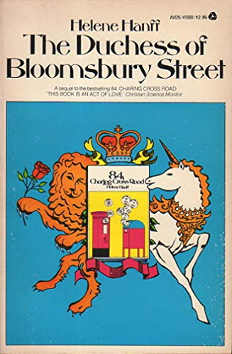 9780380419883: The Duchess of Bloomsbury Street