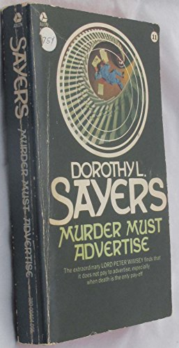 9780380420360: Murder Must Advertise