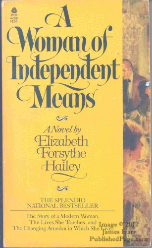 9780380423903: Woman of Independence