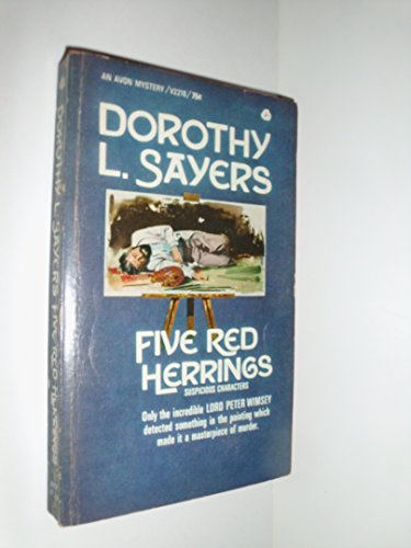 9780380424405: Five Red Herrings (Lord Peter Wimsey Mystery)