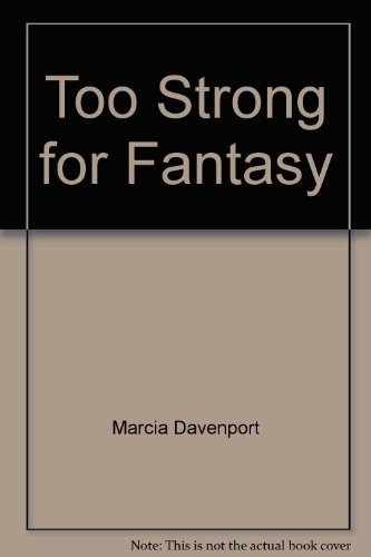 9780380451951: Too Strong for Fantasy