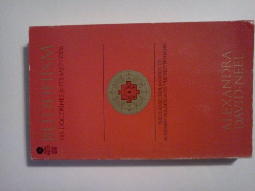 9780380461851: Buddhism: Its Doctrines & Its Methods