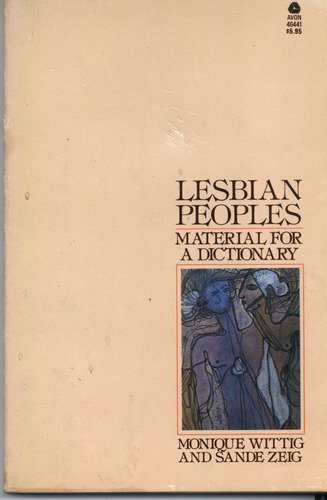 9780380464418: Lesbian peoples: Material for a dictionary
