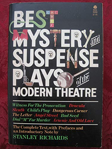 9780380464661: Best Mystery and Suspense Plays of the Modern Theatre