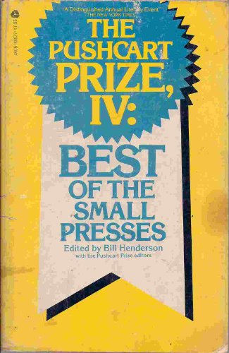9780380488278: Pushcart Prize IV: Best of the Small Presses