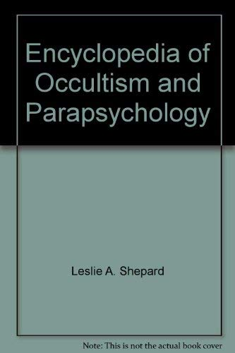 9780380489756: Encyclopedia of Occultism and Parapsychology