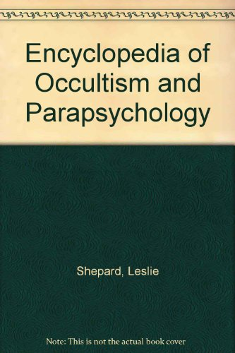 9780380501120: Encyclopedia of Occultism and Parapsychology