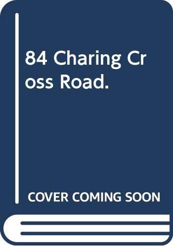 9780380503773: 84 Charing Cross Road.
