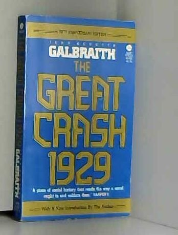 9780380507993: The Great Crash 1929