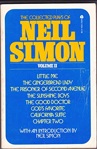 9780380519040: Collected Plays of Neil Simon: 2