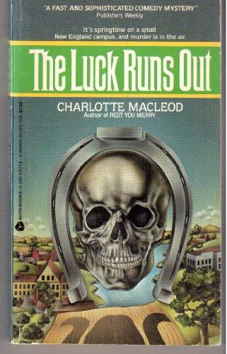 9780380541713: Luck Runs Out (Peter Shandy Mysteries)