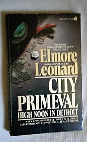 9780380569526: City Primeval: High Noon in Detroit