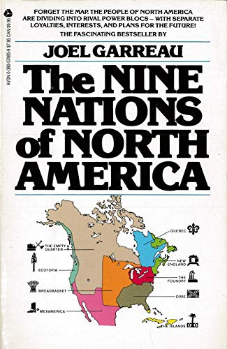 9780380578856: The Nine Nations of North America