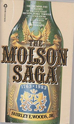 9780380691128: The Molson Saga 1763-1983