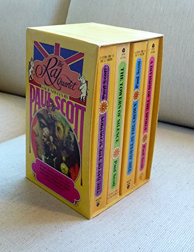 9780380692118: Raj Quartet-4 Vols. (Boxed)